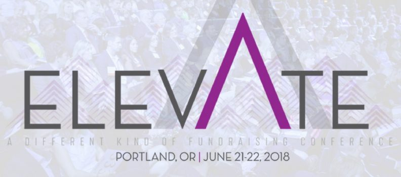 Join us for Elevate, a NEW event conference!