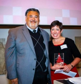 Samantha Swaim Honored with the Equity Foundations's 2013 Leadership Award